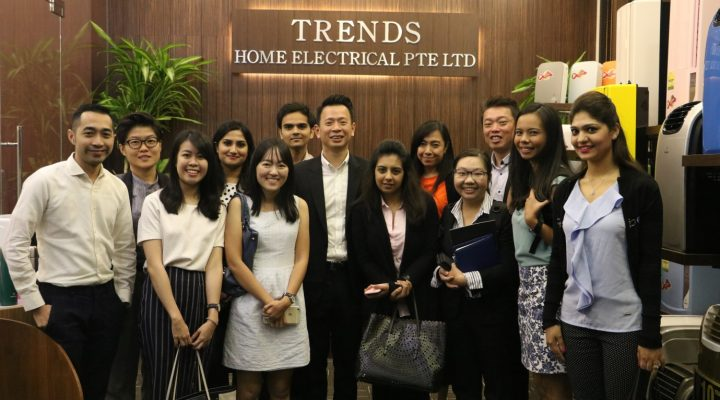 PRODUCTS INTRODUCTION WITH IE SINGAPORE (SOUTHEAST ASIA) AT TRENDS HOME ELECTRICAL PTE LTD